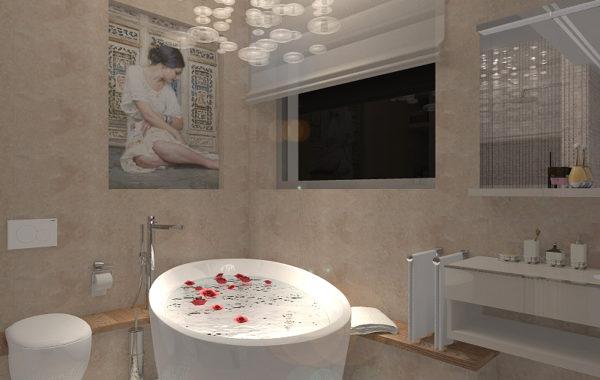 Koupelna jako relaxační místnost