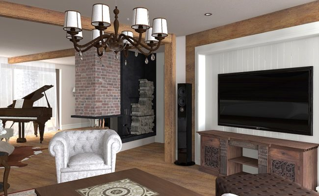 Obývací pokoj z podhůří 2