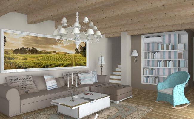 Kuchyně s obývacím prostorem