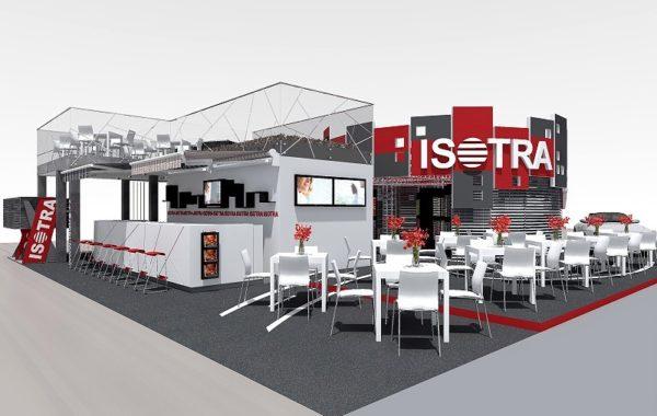 Výstavní stánek pro ISOTRA