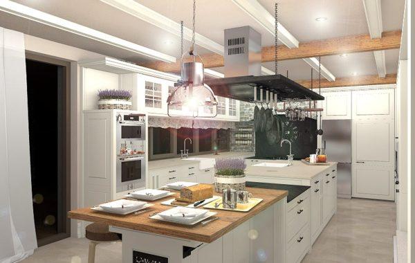 Kuchyně z podhůří